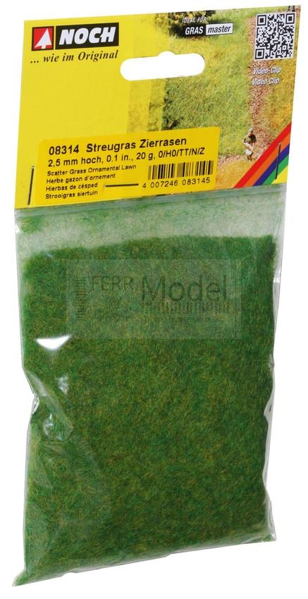 50 g da 2,5 a 6 mm NOCH 07073 Erba mista da pascolo  verde mischiato