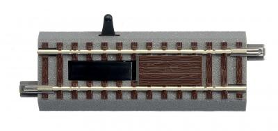 lunghezza 100 mm ROCO 61117 Binario con pedale di contatto geoLINE